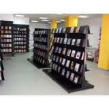 Instalación tiendas sistema cremallera libros.
